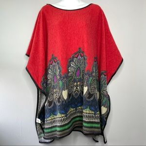 DO EVERYTHING IN LOVE Red Tunic